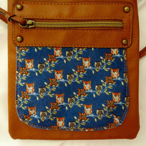 Handbags - Owl cross-body bag